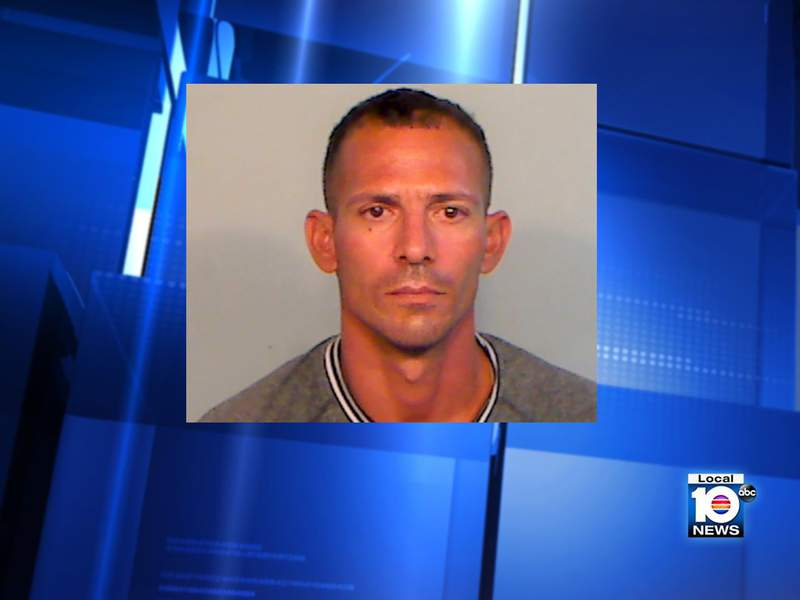 Yoan Torres Quinones was arrested Tuesday after threatening to shoot a fruit vendor in Key West.
