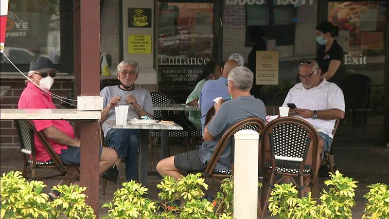 Dining and haircuts on a long-awaited day in Broward and Miami-Dade