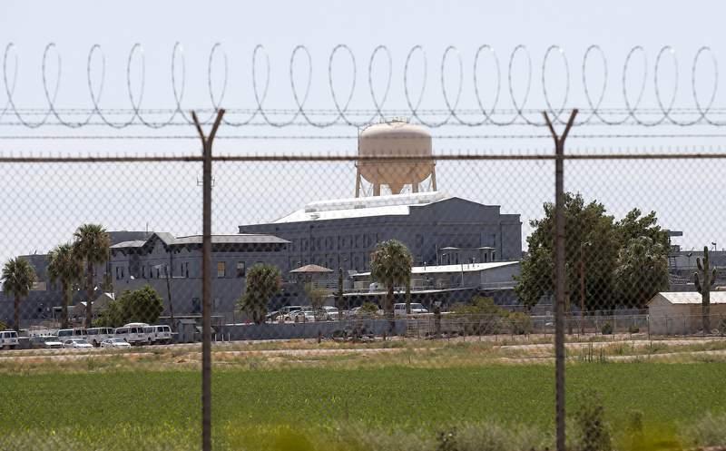 Fotografa de archivo del 23 de julio de 2014 de la prisin estatal en Florence, Arizona, en donde funcionarios de correccionales renovaron la cmara de gas del estado en diciembre de 2020. (AP Foto/Archivo)