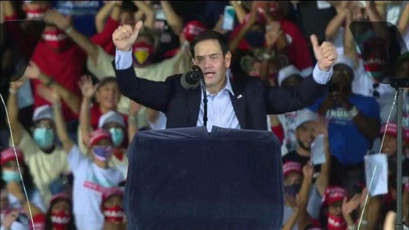 Fla. Sen. Rubio releases video tweet blaming liberal media, lying politicians, doesn't mention Trump about Capitol chaos
