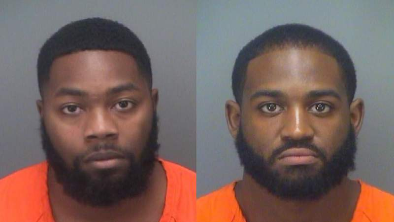 From left: Doneterio Rashad Fowler and Keondre Quamar Fields.