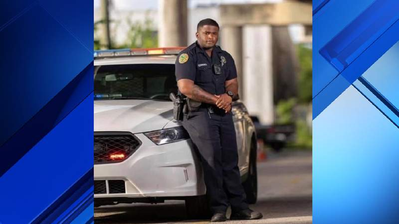 Miami Police Officer Aubrey Johnson.