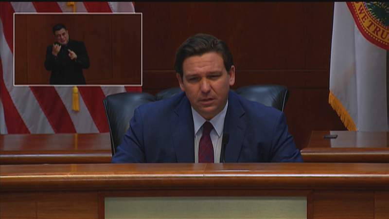 Gov. Ron DeSantis holds Aug. 13 COVID-19 roundtable in Tallahassee.