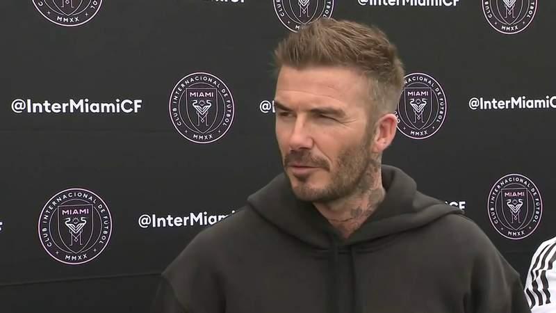 Beckham reaches his goal with start of InterMiamiCF team