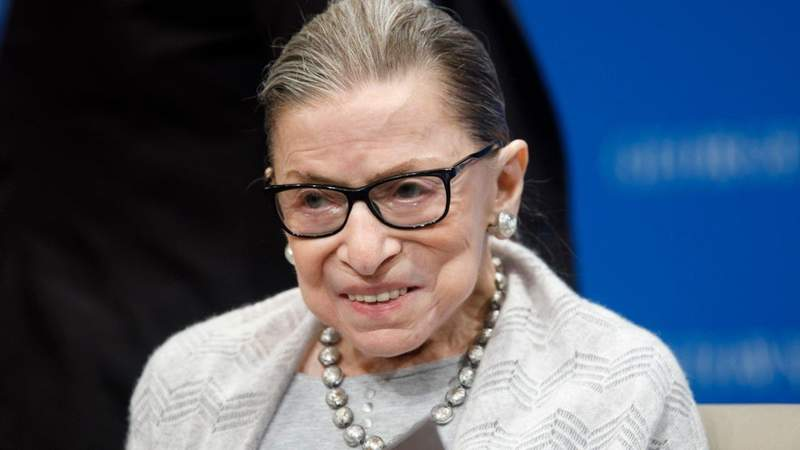 Supreme Court Justice Ruth Bader Ginsburg dies of complications with cancer at 87