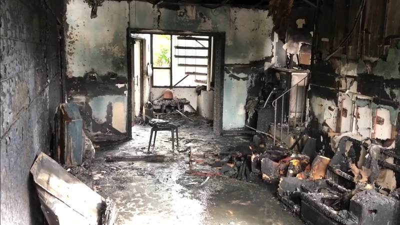 Fire destroys elderly couple's Bay Harbor Islands home