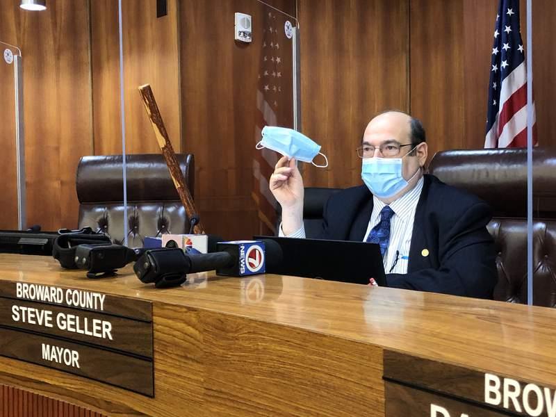 Steve Geller is Broward County's new mayor.
