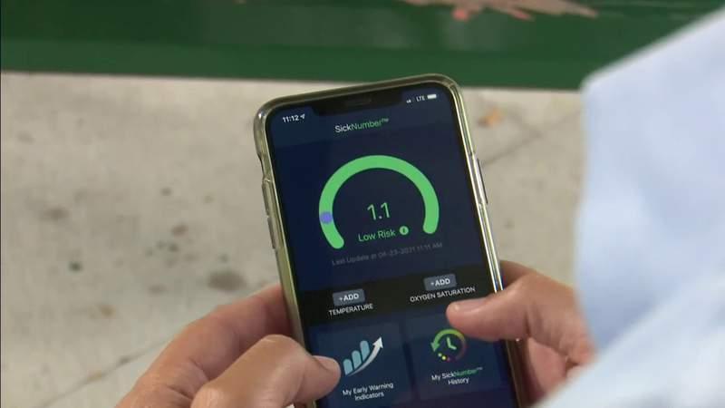 Smart technology helping provide advance notice of falling ill
