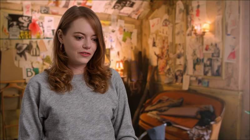 "Watch Emma Stone talk about starring in the new movie ""Cruella"""