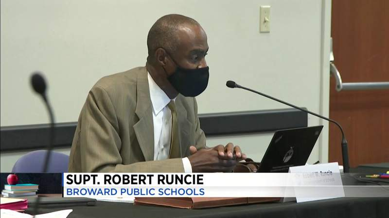 School board discusses roof collapse; waits for list of candidates for interim superintendent