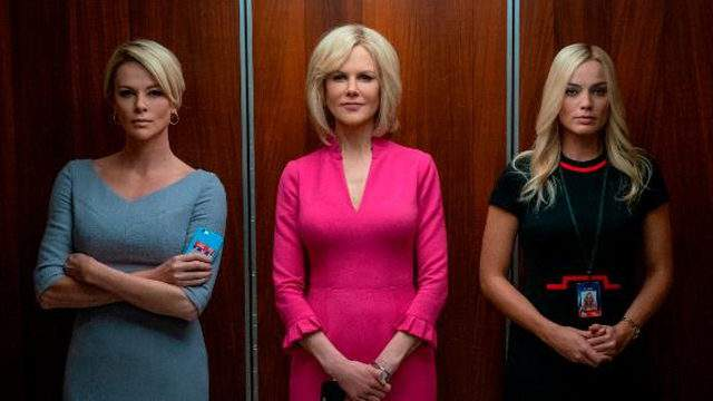 """The film """"Bombshell"""" examines the harassment allegations against the Fox News founder Roger Ailes."""
