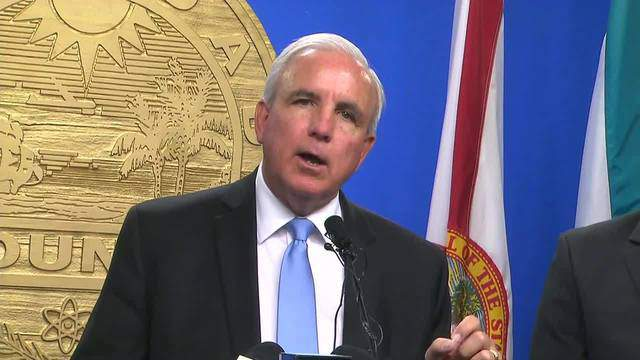"""""""We are an inclusive county,"""" Gimenez said. """"We are a county of immigrants. I am an immigrant to this great country. We are also a country of laws."""""""