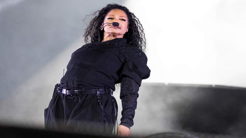Janet Jackson performs on stage Nov. 8, 2019 in Perth, Australia.