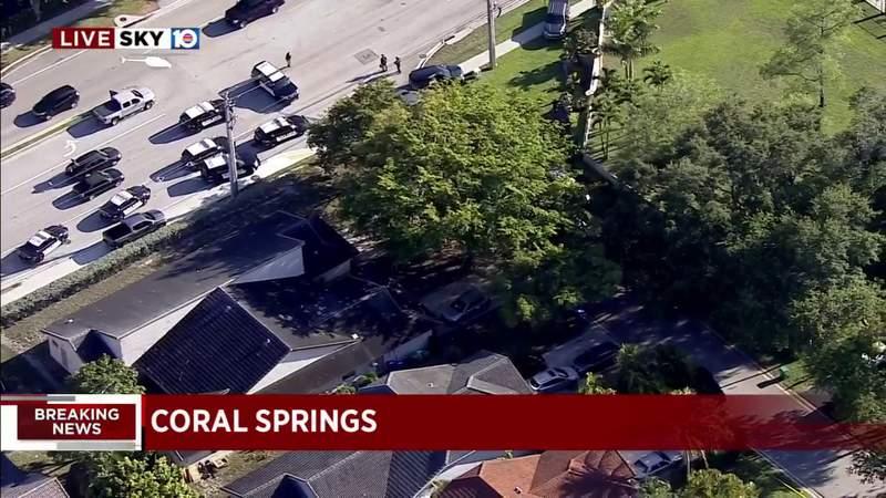 Coral Springs crime scene causes street closure