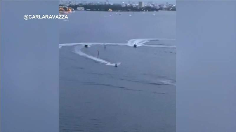 Multiple charges for man seen fleeing from officers on personal watercraft