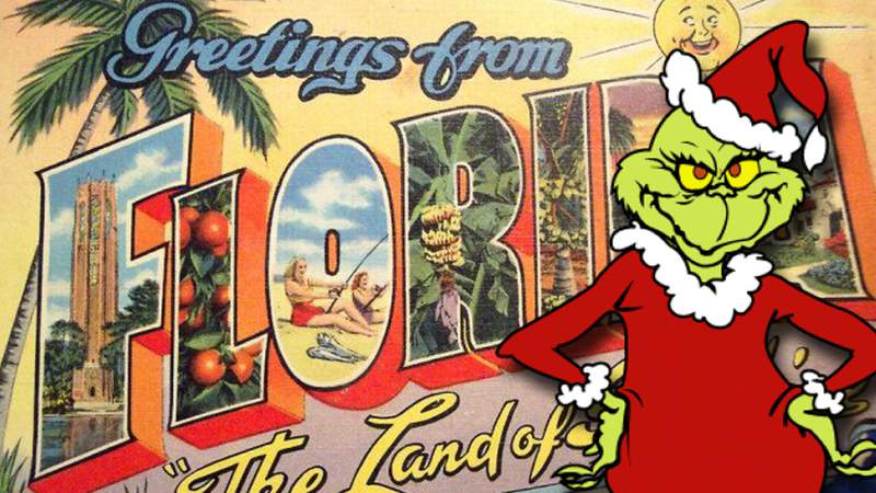 Florida's Christmas spirit is seriously lacking, according to a recent study.