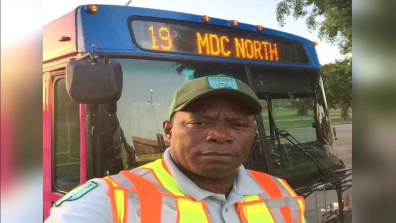Longtime Miami-Dade bus driver dies from COVID-19 complications