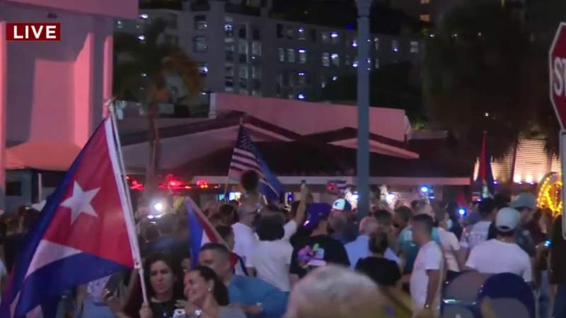 Protests for Cuba rage on in Little Havana