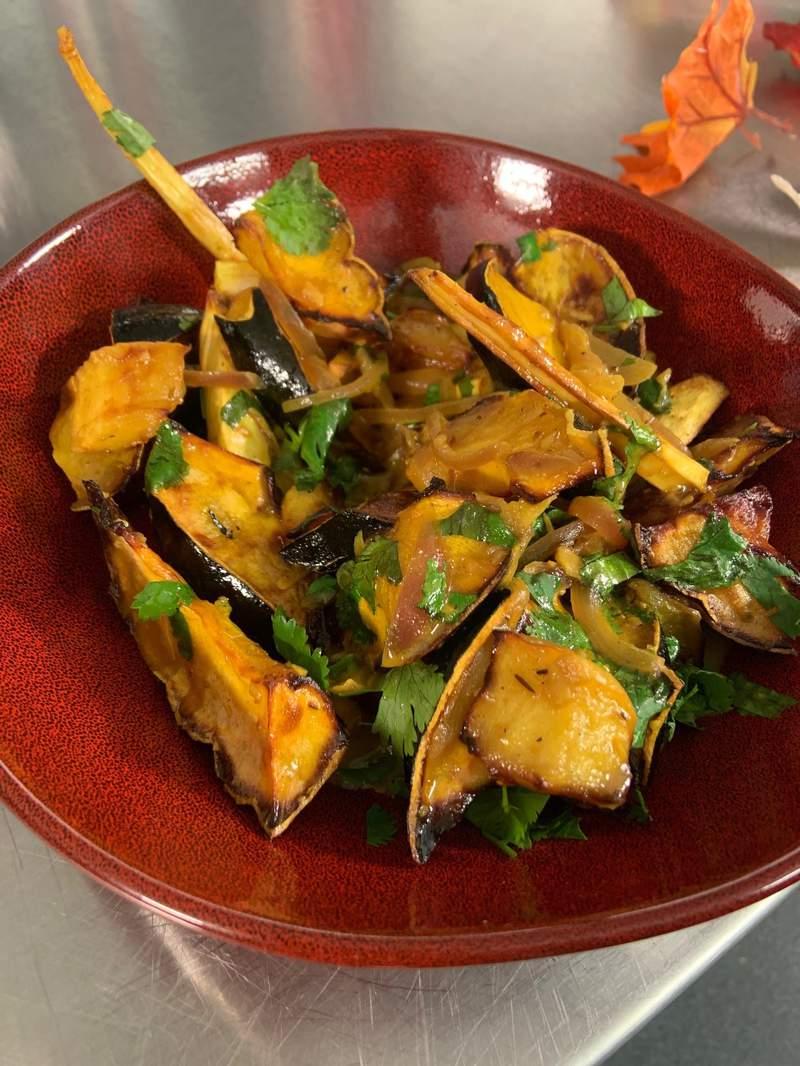 Roasted Fall Veggie Curry