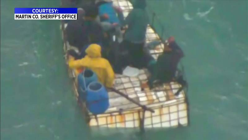Deputies rescue group of Cuban migrants after 16 days at sea