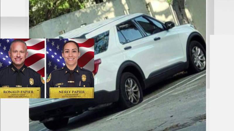 Internal affairs investigation over 2 Miami-Dade police could involve police-issued SUV