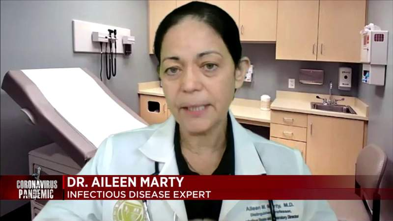 Miami-Dade's COVID surge includes vaccinated patients, expert says