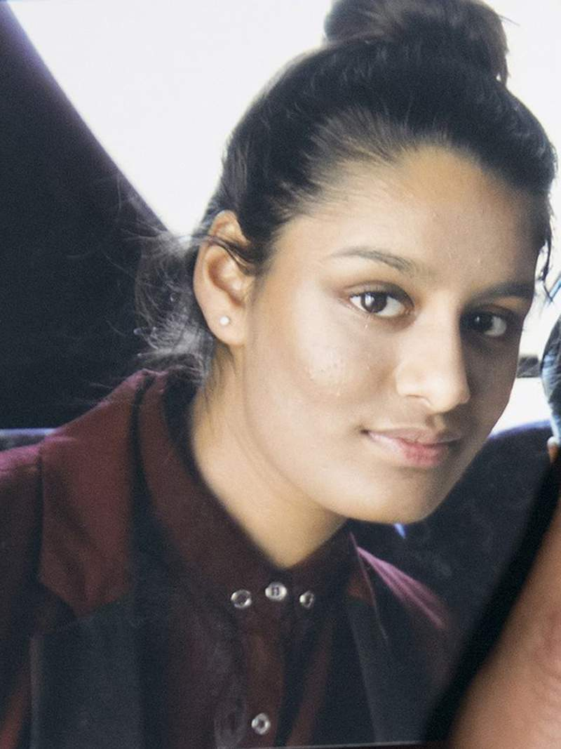 This undated photo shows Shamima Begum, one of three east London schoolgirls who traveled to Syria in 2015 to join the Islamic State group. Shamima Begum won the right Thursday July 16, 2020 to return to Britain to fight for the restoration of her citizenship, which was revoked on national security grounds. (PA via AP)