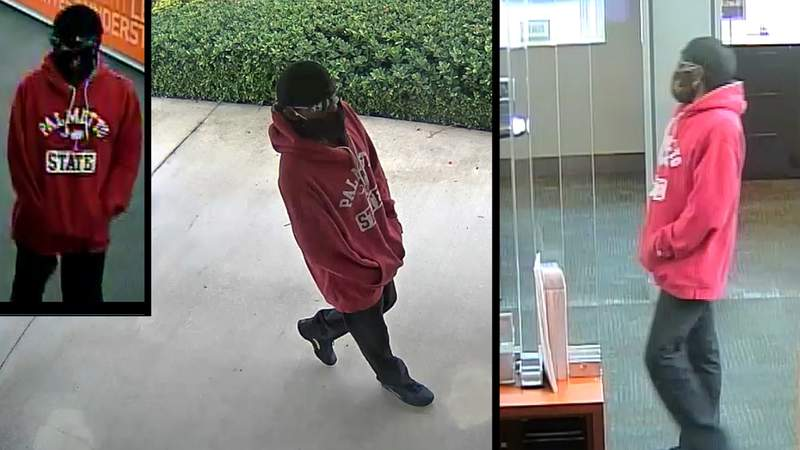 A man seen on surveillance robbed a Coconut Creek bank on Friday morning, authorities say.