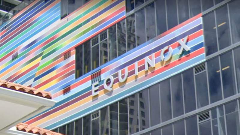 Both Equinox gyms in Miami's Brickell neighborhood remained open to members on Monday despite COVID-19 pandemic.