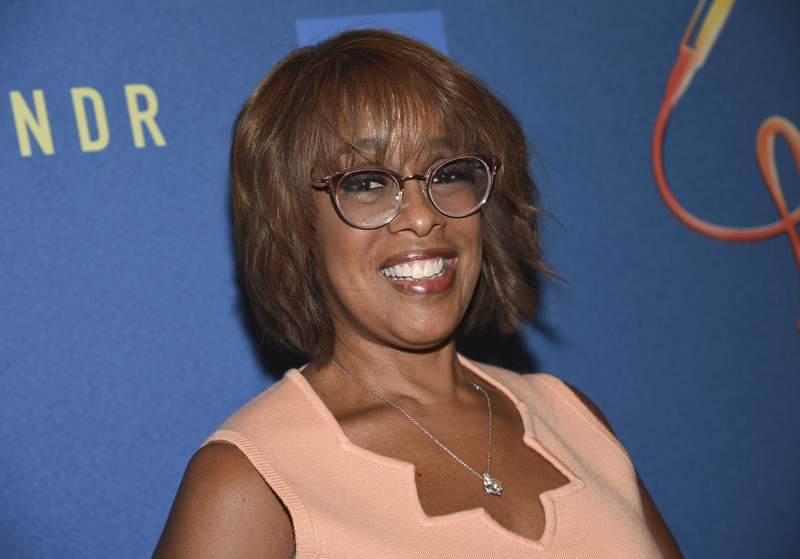 """FILE - In this Oct. 2, 2019 file photo, Gayle King attends """"Freestyle Love Supreme"""" Broadway opening night in New York. Anchors at """"CBS This Morning"""" and """"Fox & Friends"""" return to Manhattan studios as New York City restrictions ease. At most news organizations, the bulk of the behind-the-scenes staff continues to work remotely, and likely will for some time. But CBS' Gayle King, not a fan of working from home, is thrilled to be back. (Photo by Evan Agostini/Invision/AP, File)"""