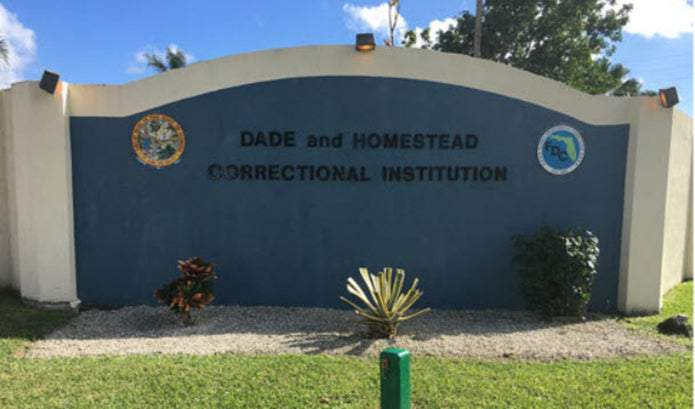 Dade Correctional Institution in Miami-Dade County.
