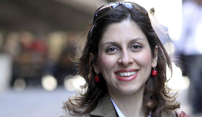 FILE - In this undated file photo provided by the the family of Nazanin Zaghari-Ratcliffe, a British-Iranian dual national detained in Iran . A British lawmaker says a new trial that a woman with dual nationality expected to face in Iran on Sunday, Sept. 13, 2020 has been postponed, with no new date arranged. (Family of Nazanin Zaghari-Ratcliffe via AP, File)