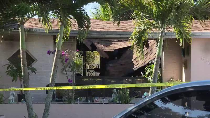 Fire destroys family's home in Miramar