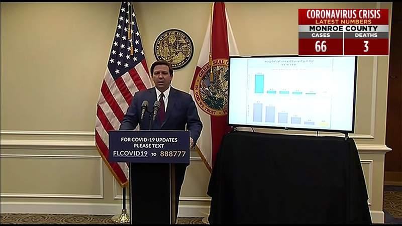 Florida Gov. Ron DeSantis announces task force focused on re-opening businesses