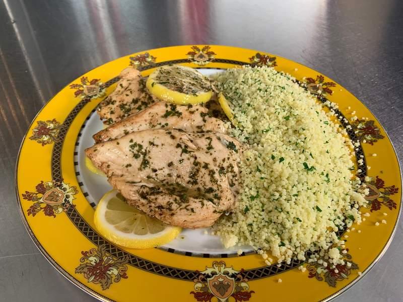 Marcella Hazan's  Sautéed Filet Breast of Chicken with Lemon & Parsley, Siena Style