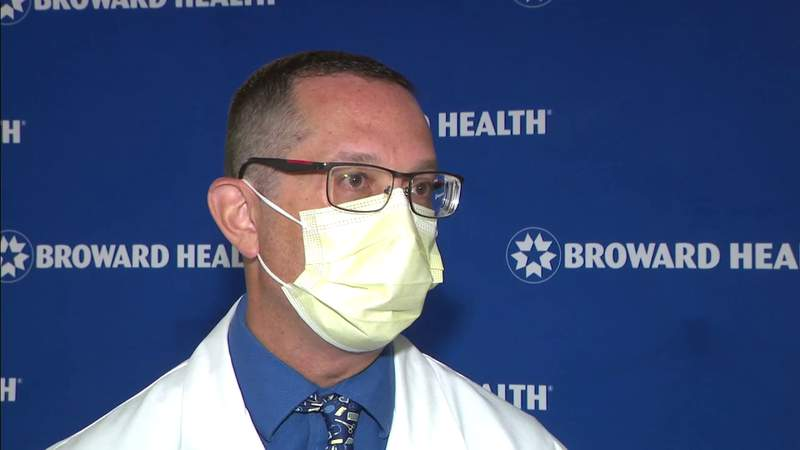 Broward hospitals seeing signs that coronavirus spread may be slowing