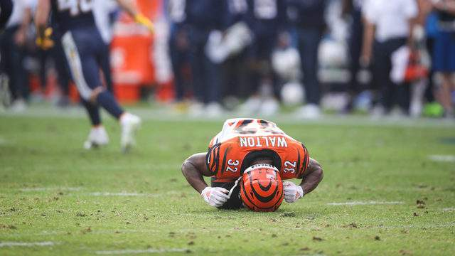 Mark Walton's time with the Cincinnati Bengals has come to an end.