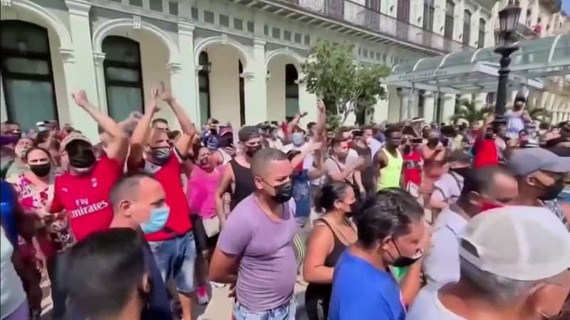 Biden administration takes first big action against Cuban regime