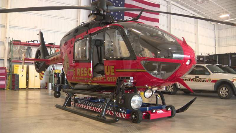 BSO Fire Rescue gives Local 10 up-close look at new live-saving helicopters