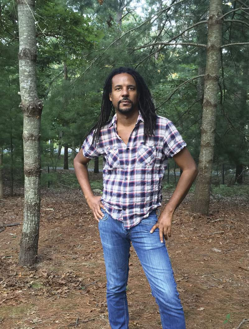 """This image released by Doubleday shows a portrait of Colson Whitehead, author of the Pulitzer Prize-winning The Nickel Boys"""" and his most recent crime story """"Harlem Shuffle."""" Whitehead's """"Harlem Shuffle,"""" Joy Williams' """"Harrow"""", and Honore Fanonne Jeffers' debut work, The Love Songs of W.E.B. Du Bois, are among this year's finalists for the Kirkus Prize, $50,000 awards presented by the trade publication.  (Madeline Whitehead/Doubleday via AP)"""