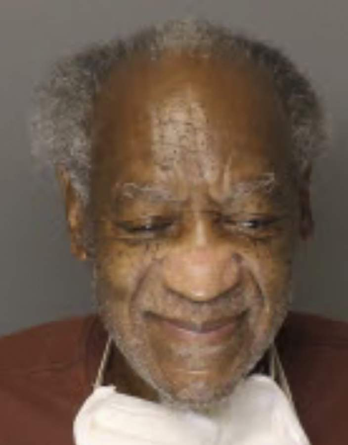 This Tuesday, Sept. 4, 2020, inmate photo provided by the Pennsylvania Department of Corrections shows Bill Cosby. The Pennsylvania Department of Corrections recently updated the 83-year-old Cosbys mugshot. Cosby was convicted of felony sex assault and is serving a three- to 10-year prison term. (Pennsylvania Department of Corrections via AP)