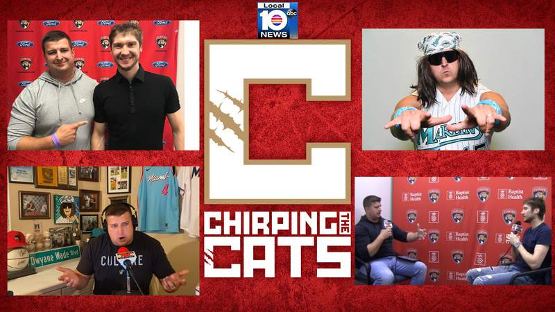 Chirping the Cats episode 17 features South Florida radio host Brendan Tobin.