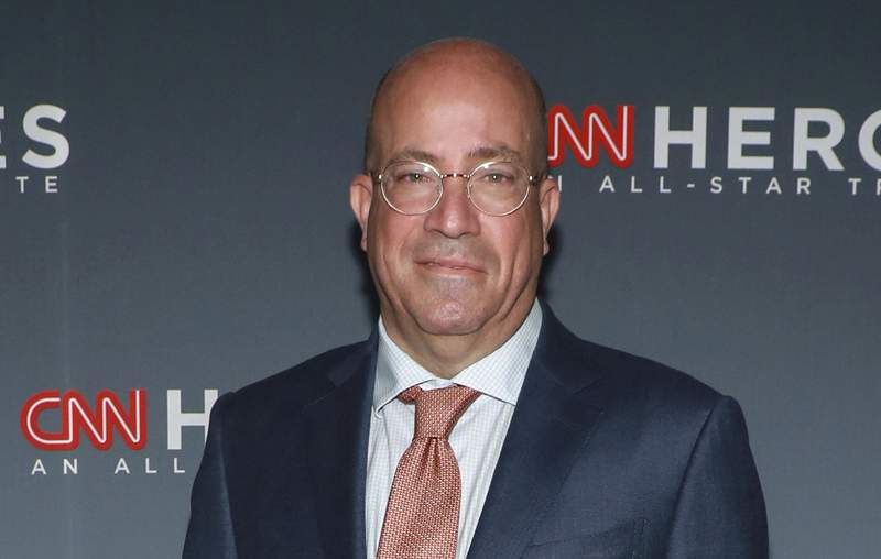 FILE - In this Dec. 8, 2019 file photo, CNN chief executive Jeff Zucker attends the 13th annual CNN Heroes: An All-Star Tribute in New York. A busy stretch of news with the coronavirus pandemic and racial demonstrations in the United States has led CNN to its best ratings in the network's 40-year history. Zucker says viewers have come to CNN for the news coverage, while the network's rivals are more about 'political talk.' (Photo by Jason Mendez/Invision/AP, File)