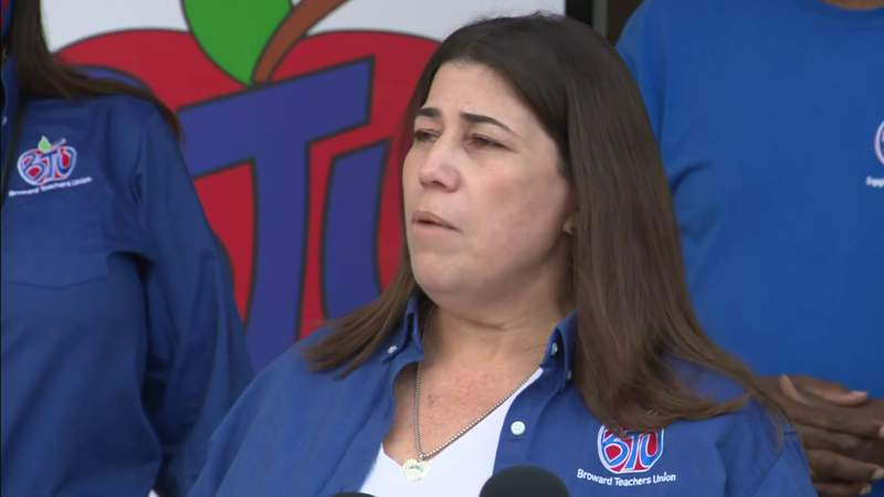 Broward Teachers Union files lawsuit against school district over staff being forced back into classroom