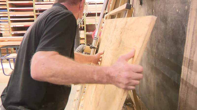 Hurricane season 2021: Plywood price is sky high, so boarding up the house will be costly