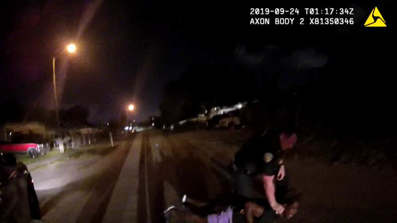 Raw video: Officer Steven Pohorence on Sept. 24 (Graphic content)