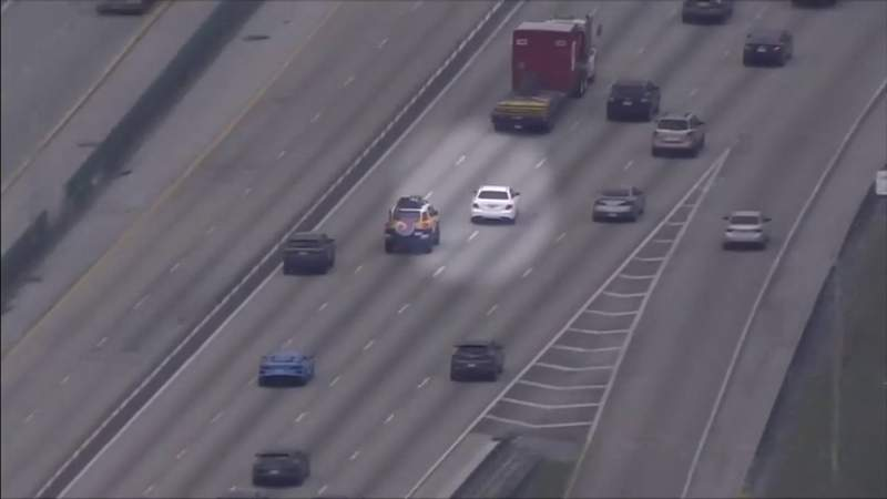 Police searching for driver who led high-speed chase across two counties