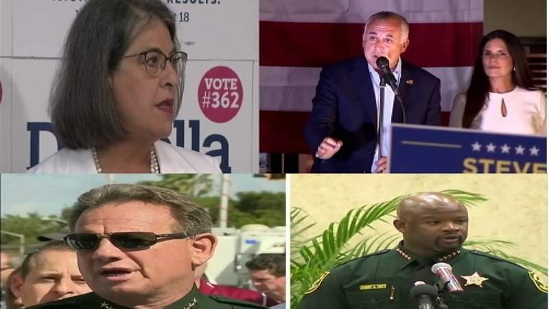 A round up of the biggest races in Broward and Miami Dade county for the Primary Election