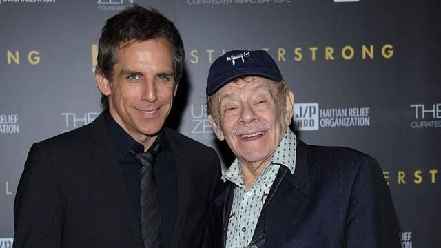 "Funny runs in the Stiller family, with actor Ben Stiller the son of ""Seinfeld"" veteran actor Jerry Stiller."