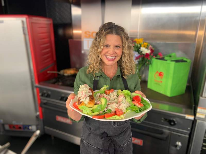 Lobster Salad for Mom